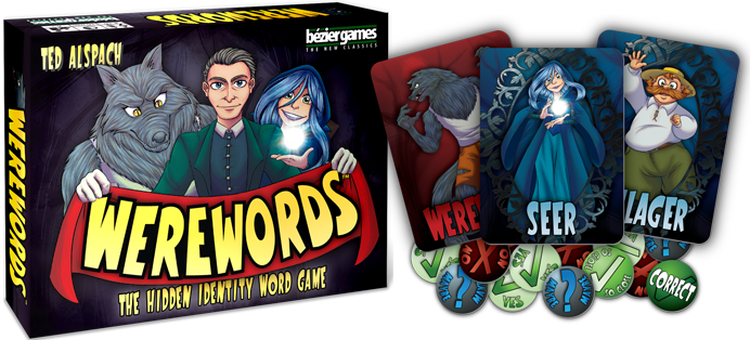 Werewords by Ted Alspach, from Bezier Games